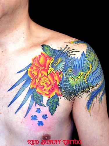 刺青 tattoo タトゥー 鳳凰