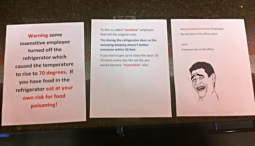 """The """"beep it all"""" approach   by passiveaggressivenotes"""