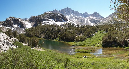 0225 Bishop Pass Trail - Spearhead Lake panorama | by _JFR_
