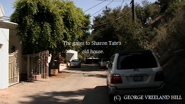 The Gates That Lead To Sharon Tate's Former Home  | The gate