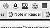 """R.I.P """"Note"""" bookmarklet from Google Reader. It"""