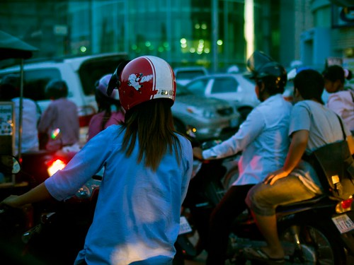 Scooter Life in Phnom Penh   by Chun's Pictures
