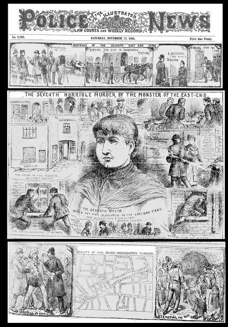 Police Illustrated News - 17th November 1888