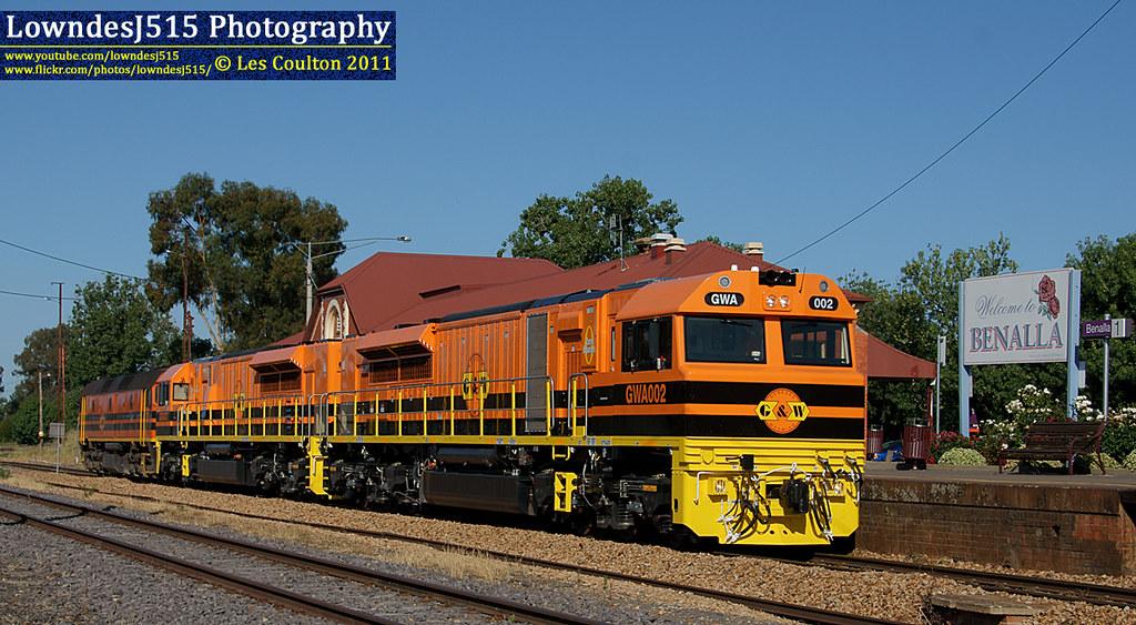 GWA002, GWA003 & 2212 at Benalla by LowndesJ515