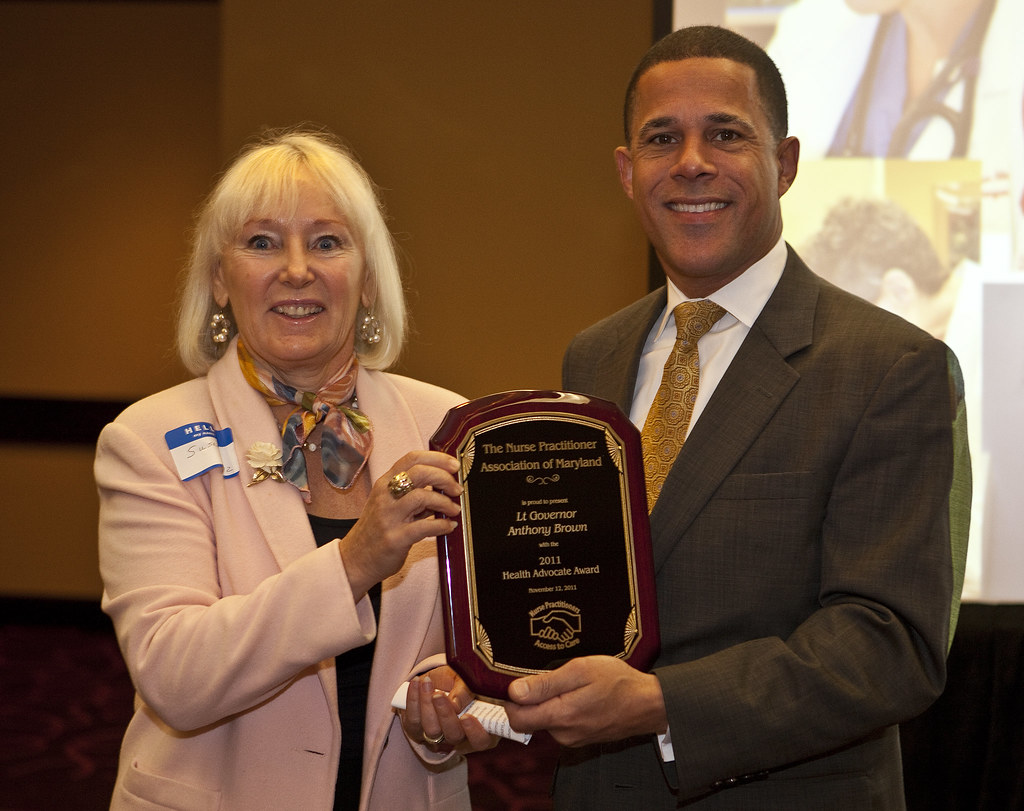Health Care Advocate Award from Nurse Practioners of MD