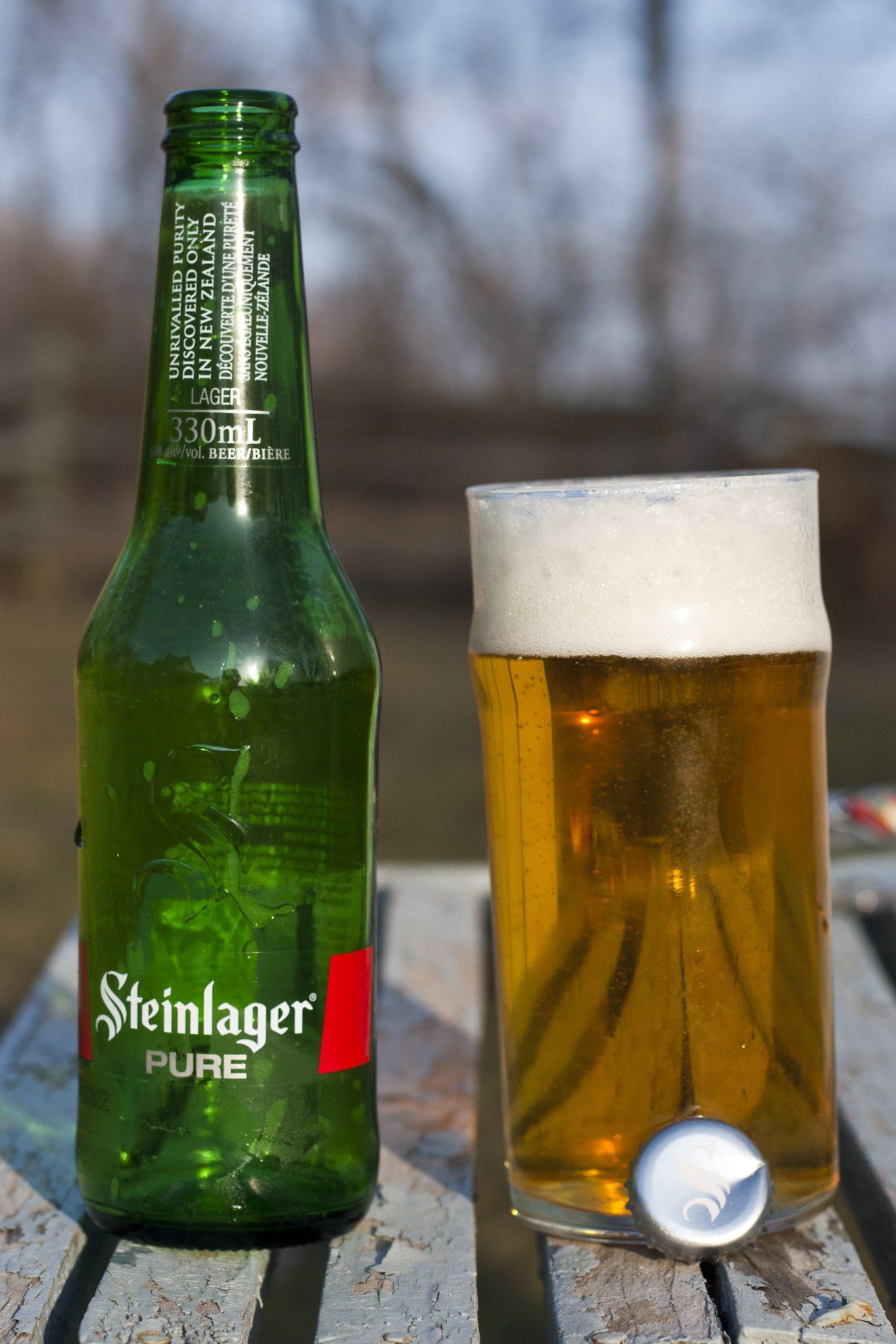 Review: Steinlager Pure (New Zealand)