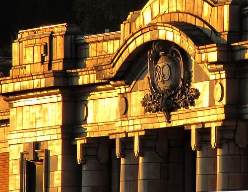 sunset west station train virginia bo