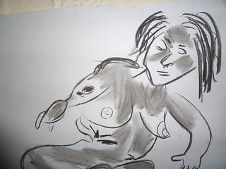 Life drawing | by celf o gwmpas