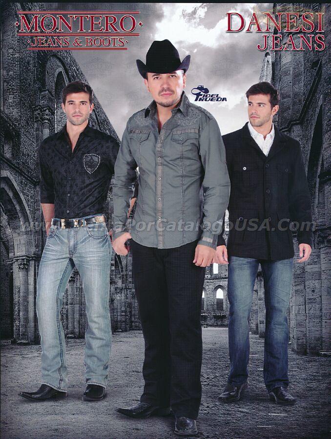 f45880ff4 ... 650 Danesi Jeans Pantalon y Camisas Texanas Accesorios de Moda para  Caballeros Botas Vaqueras y Cintos
