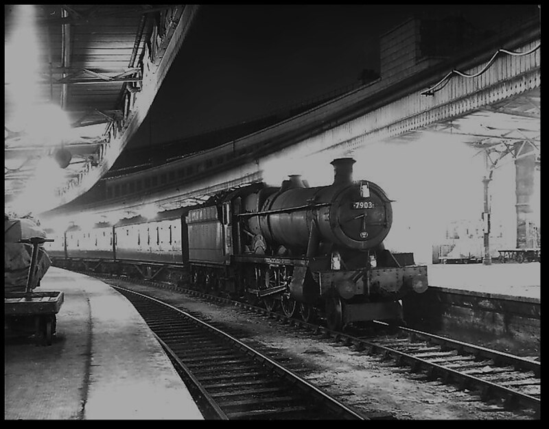 Night Steam at Bristol Temple Meads -Hall