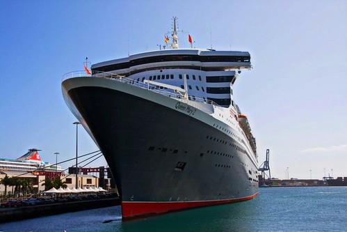 Fotos del Queen Mary 2 en Las Palmas de Gran Canaria Islas Canarias   by El Coleccionista de Instantes