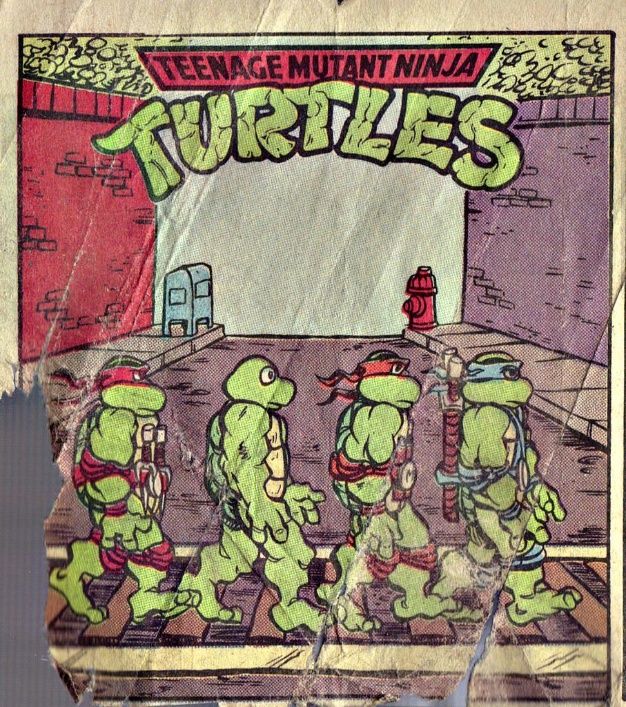 Teenage Mutant Ninja Turtles { newspaper strip } TURTLE X-ing   ..art by Lawson - isolated :: xxxx1991 by tOkKa