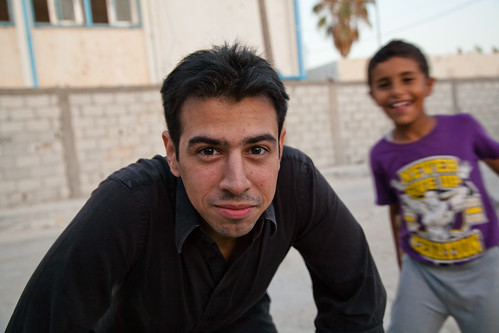 Shot by a refugee