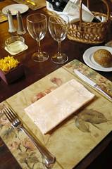 Mesa do Restaurante