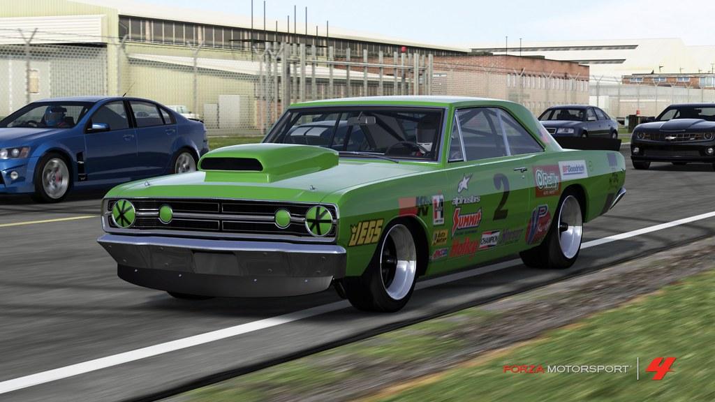1968 Dodge Dart Hemi Super Stock Photo Paint Decals By Flickr