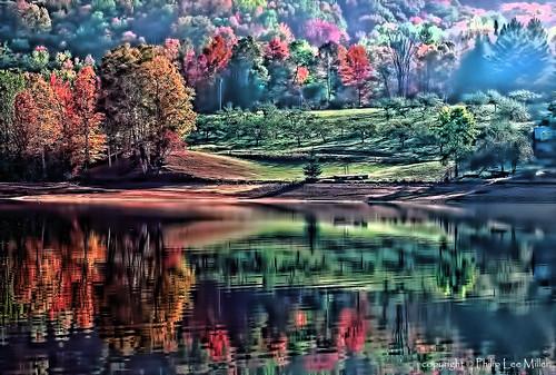autumn nature landscape vermont lakes ludlow fallfoliage artdigital rte100 flickrstruereflection1 reflectivescenic