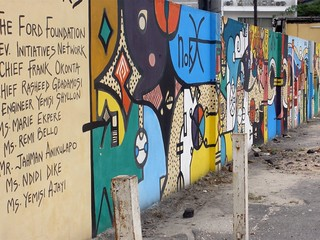 Museum in Lagos   by crashdburnd