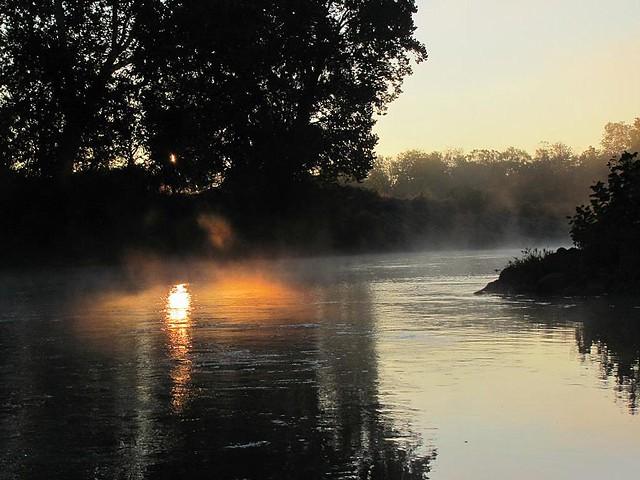 Sunrise on the Staunton