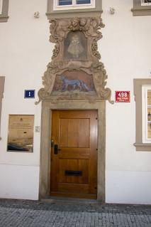 Estonian embassy door