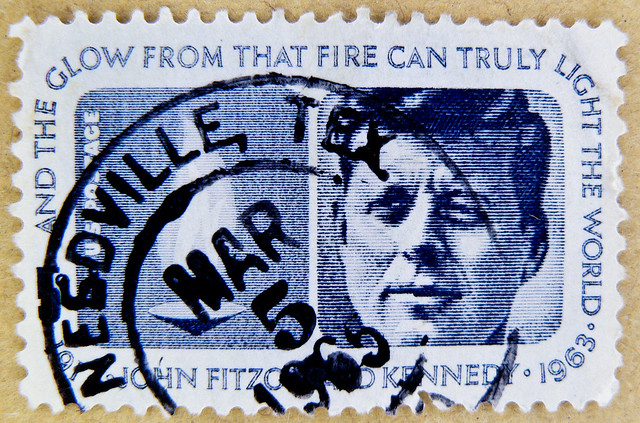 great stamp USA 5c portrait J.F.K. John F. Kennedy (May 29. 1917 - Nov. 22. 1962) postage United States of America timbre États-Unis u.s. postage selo Estados Unidos sello USA francobolli USA Stati Uniti d'America почтовая марка США pullar ABD 邮票 美国 Měigu