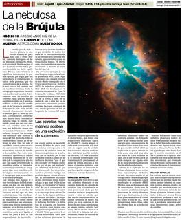 ZOCO Astronomía: La nebulosa de la Brújula | by Ángel López-Sánchez