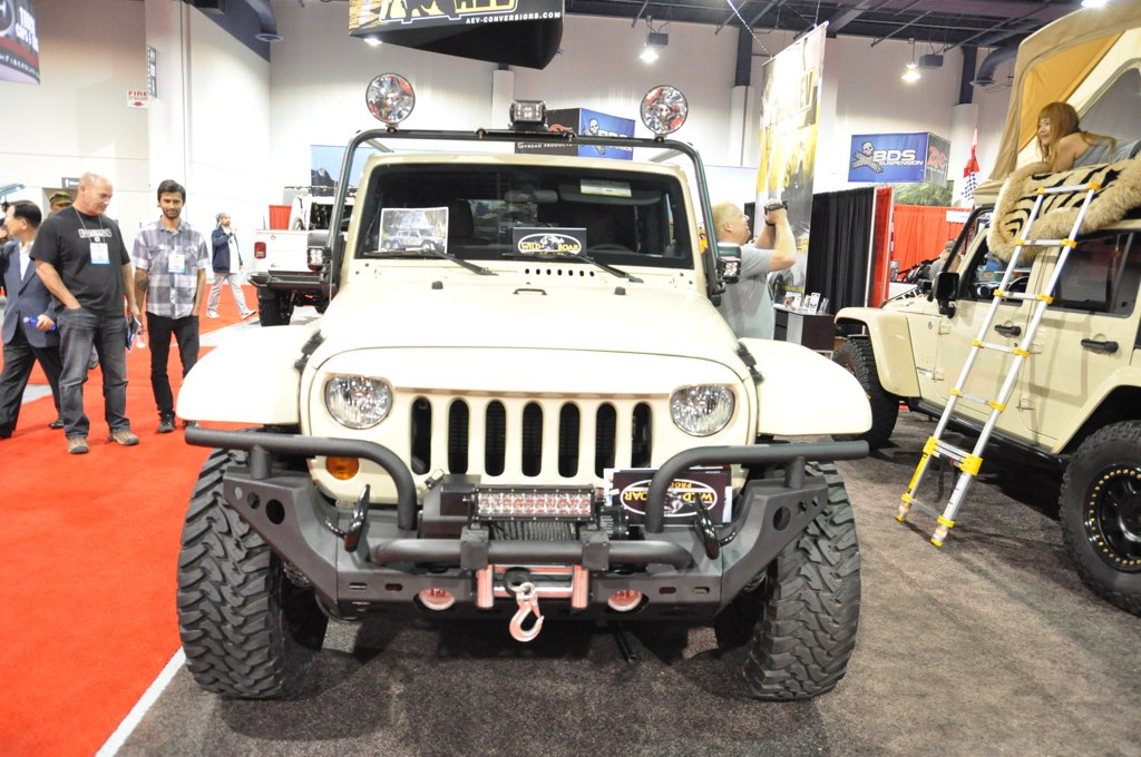 2011 Beige Jeep Wrangler Custom 6X6 | Justin Behrends | Flickr