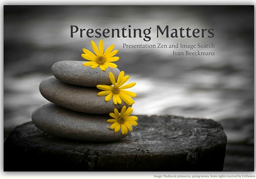 Presenting Matters | by ibeeckmans
