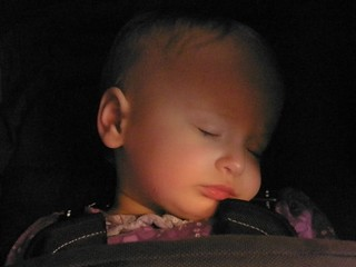 2011 06 11 Genevieve sleeping at Sci Fi Exhibition | by Wendrie
