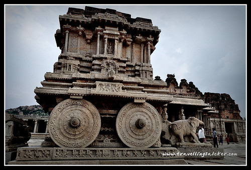 Hampi: Stone Chariot, Vittala Temple | by quetzalcoatl2011