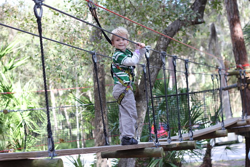 Zip Lining at the Sanford Central Florida Zoo | by MommyNamedApril