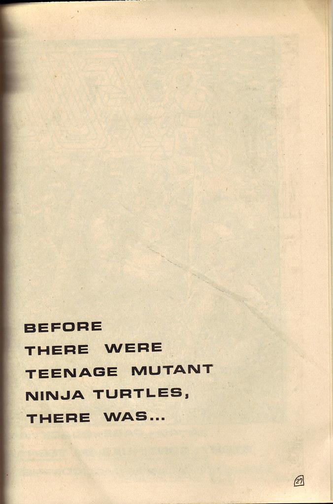 """RAPHAEL, TEENAGE MUTANT NINJA TURTLE #1 { ORIGINAL MICRO SERIES } ii // """"FUGITOID #1"""" ad-spread A (( 1985 )) by tOkKa"""