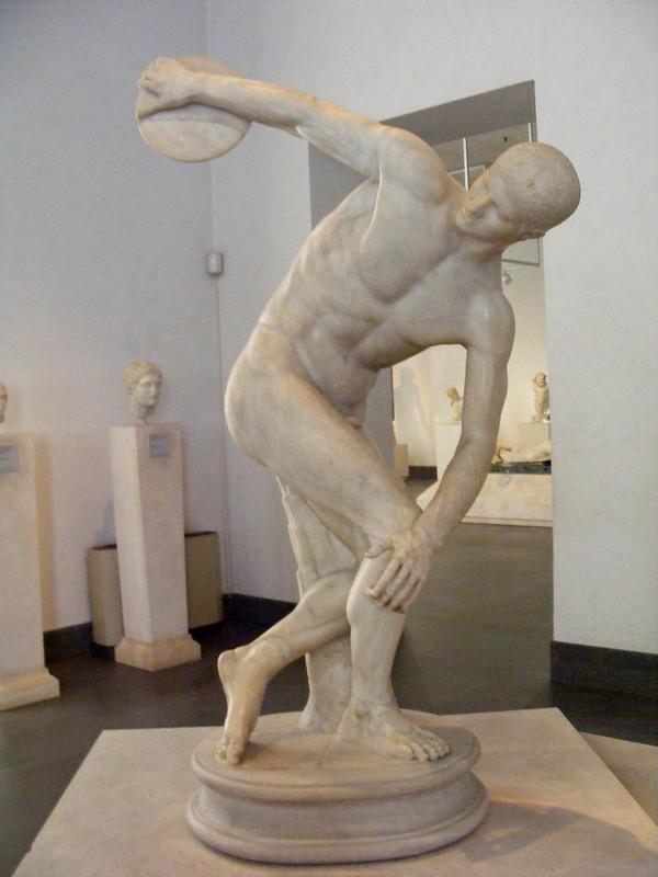 Discobolo, copia del original de Miron s-V a.C. (c.140 d.C.) 15-08-2010