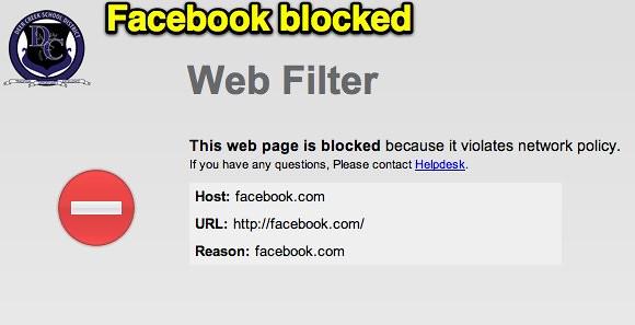 Facebook blocked | Uploaded with Skitch | Wesley Fryer | Flickr