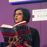 Meera Syal | Acclaimed actor and screenwriter Meera Syal reads from her book, House of Hidden Mothers, at the Book Festival © Alan McCredie