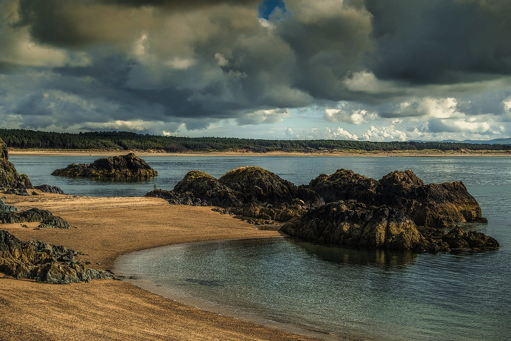 Beach Newborough.
