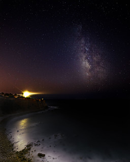 Milky way over the lighthouse in PV | by charlie617