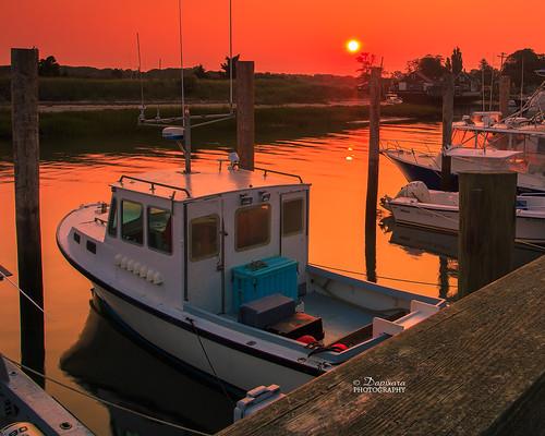 orange boats sunrises fishingboats rockharborseptember2015dapixaracapecodphotographyorleans rockharborseptember2015dapixaracapecodphotographyorleansmassachusetts