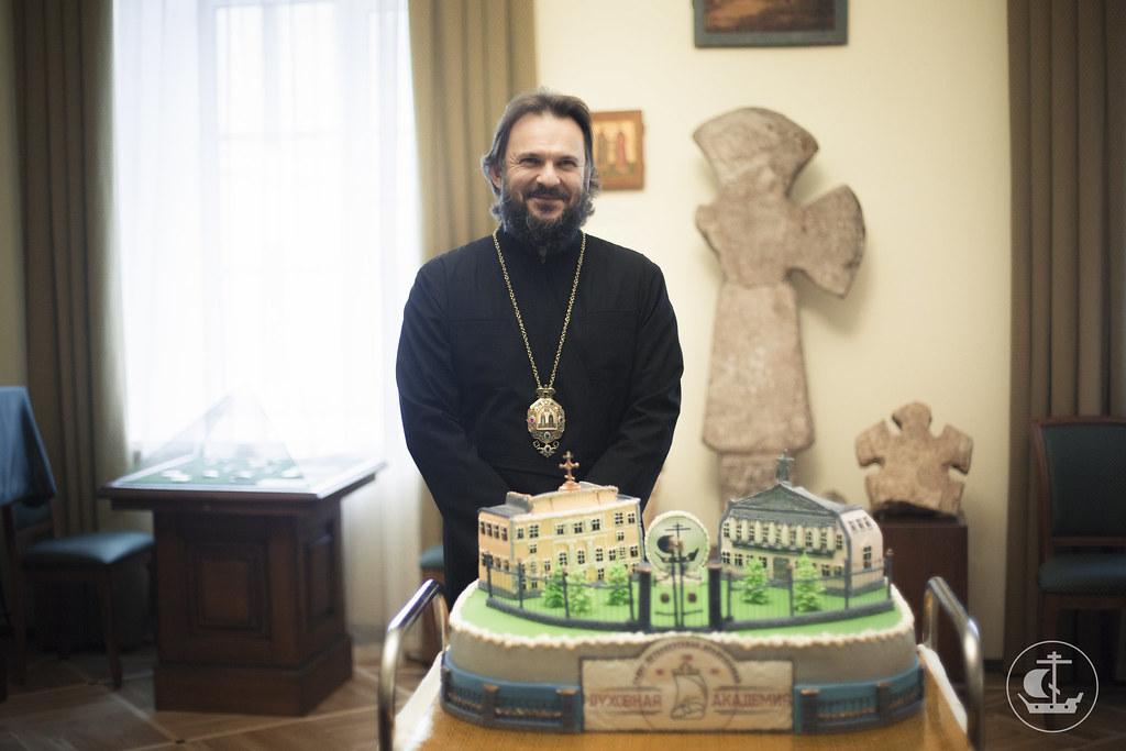 23 октября 2015, Архиепископ Амвросий принимает поздравления с днем тезоименитства / 23 October 2015, Archbishop Ambrose accepts congratulations on Name Day