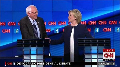 bernie and hillary debate | by ronnymarshallselby