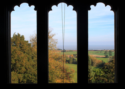 window landscape nationaltrust bristolchannel dunstercastle