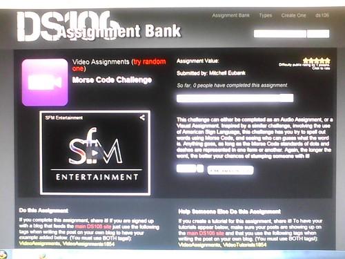 Morse Code Challenge 5