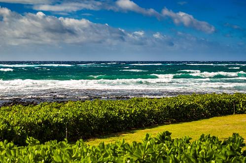 flickr kauai nikond70 poipu scenery d70 digital nikon nikkor nikondx dx nikkor28105mm pacific choppy waves clouds