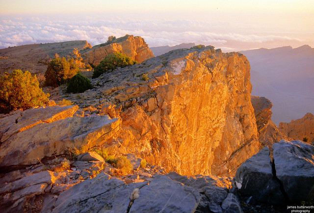 Sunrise at Jebel Shams