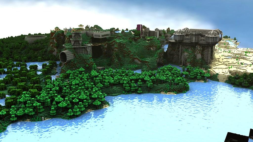 Minecraft Render C4D | Cinema 4D Minecraft | L S | Flickr