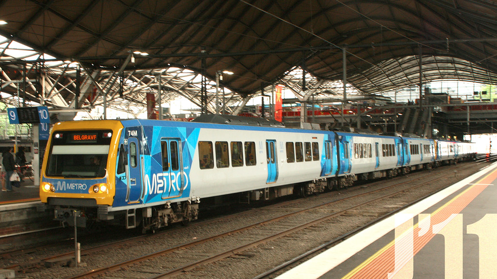 74M @Southern Cross Station by James 460