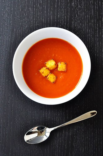 Roasted Garlic Tomato Soup | by GF in the City