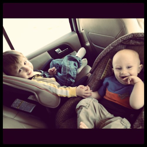 Unscripted Sweetness - brothers holding hands #mademyday #incourage #love | by SprittiBee