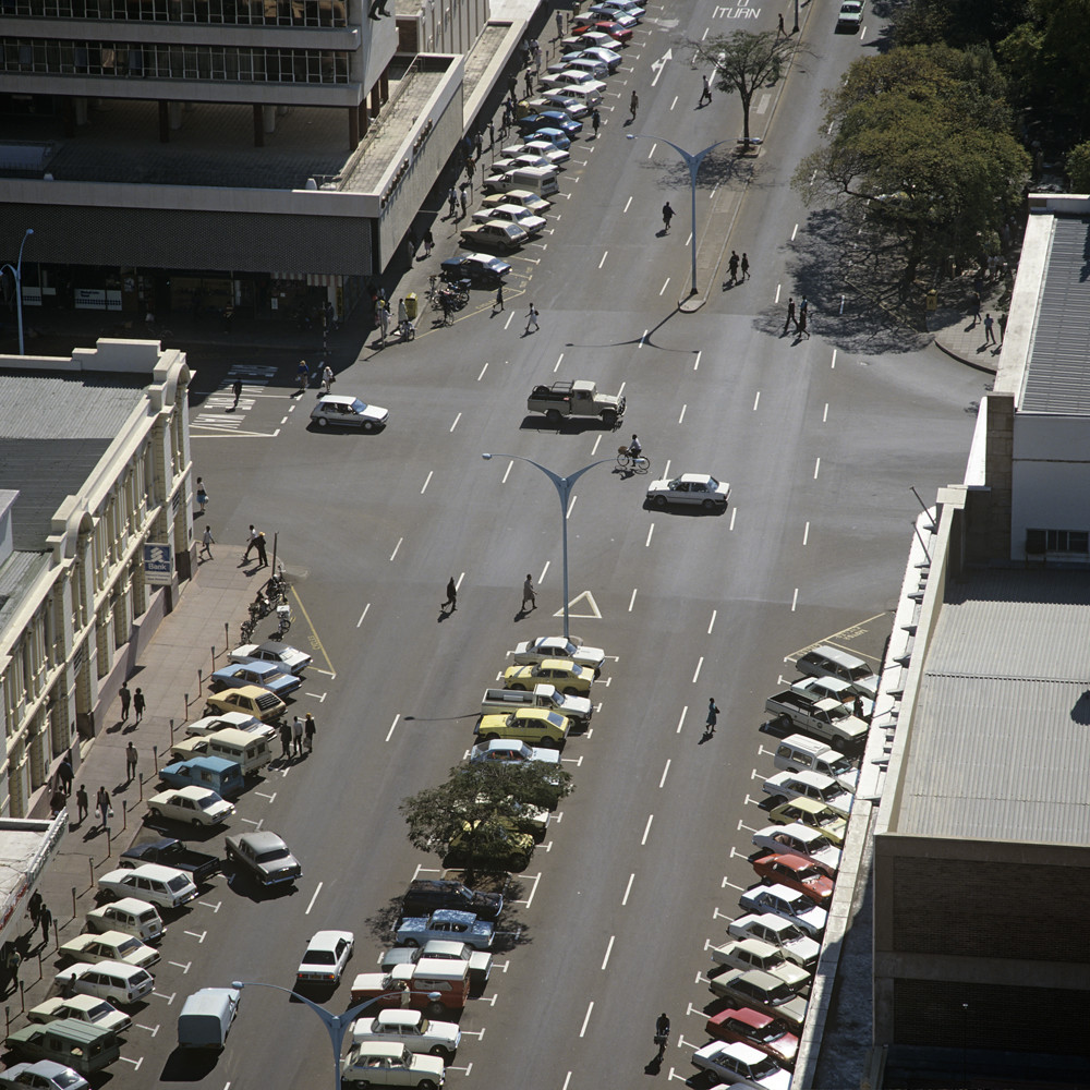 Image result for bulawayo wide streets""