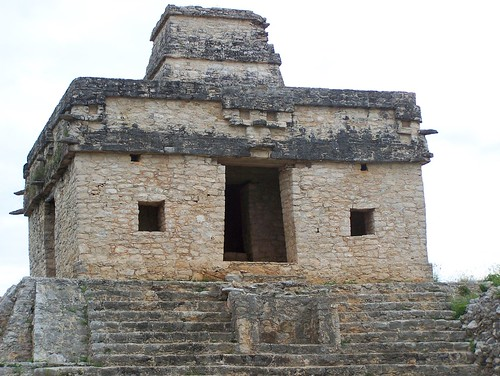 Temple of the Seven Dolls in Dzibilchaltun