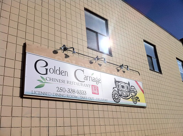 Golden Carriage in Courtenay